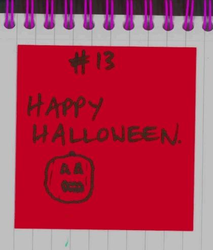 #13 - Happy Halloween
